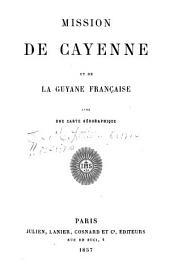 Mission de Cayenne et de la Guyane francaise