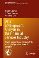 Data Envelopment Analysis in the Financial Services Industry PDF