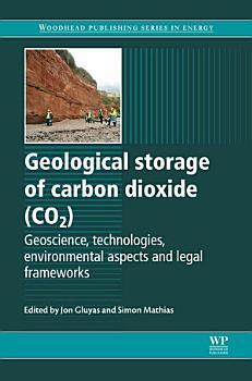 Geological Storage of Carbon Dioxide  CO2  PDF