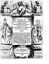 Idea de un principe politico christiano, representada en cien empresas, dedicada al principe de las Españas nuestro Señor...