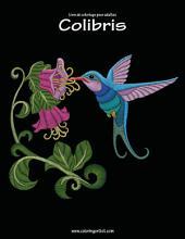 Livre de coloriage pour adultes Colibris 1