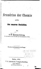 Grundriss der chemie gemäss den neueren ansichten