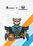 Overwatch Tokidoki X Series 3 Notebook