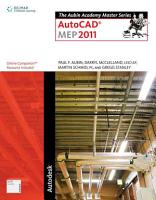 The Aubin Academy Master Series  AutoCAD MEP 2011 PDF