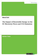 The Impact of Renewable Energy on the EU Electricity Prices and CO2 Emissions PDF