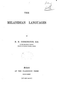 The Melanesian Languages PDF