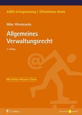 Allgemeines Verwaltungsrecht: Ausgabe 4