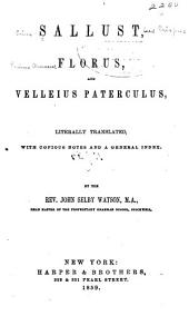 Sallust, Florus, and Velleius Paterculus