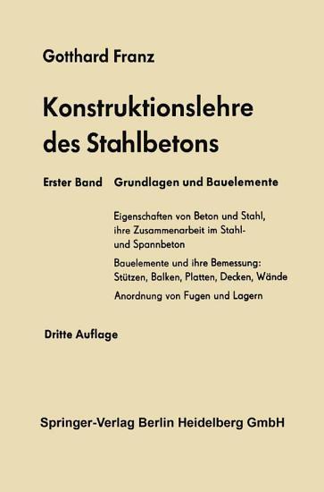 Grundlagen und Bauelemente PDF