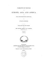 Narrative of Travels in Europe, Asia and Africa in the 17th Century: Volume 2