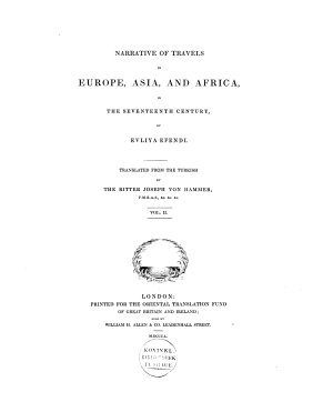 Narrative of Travels in Europe  Asia and Africa in the 17th Century