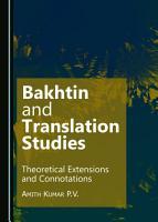 Bakhtin and Translation Studies PDF