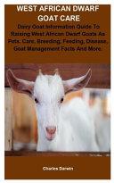 West African Dwarf Goat Care