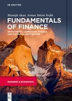 Fundamentals of Finance PDF