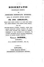 Dissertatio inauguralis juridica de domicilio, ...