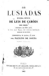 Os Lusiadas, poema epico de Luis de Camões