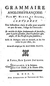 Grammaire angloise-françoise