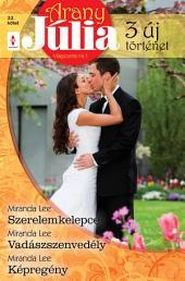 Arany Júlia 22. kötet: Szerelemkelepce, Vadászszenvedély, Képregény