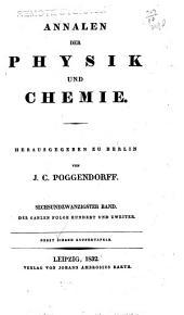 Annalen der Physik und Chemie: Band 102