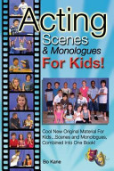Acting Scenes   Monologues for Kids  PDF