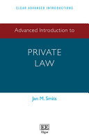 Advanced Introduction to Private Law PDF