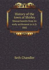 History of the town of Shirley