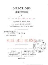 Directions spiritulles de St -François de Sales