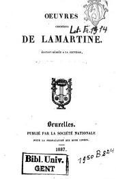 Oeuvres choisies de Lamartine