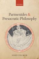 Parmenides and Presocratic Philosophy PDF
