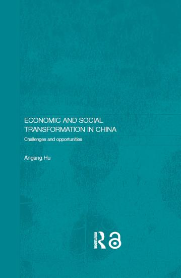 Economic and Social Transformation in China PDF