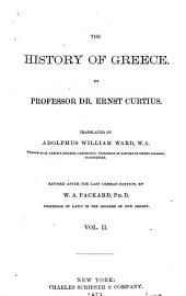 The History of Greece: Volume 2