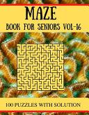 MAZE Book for Seniors Vol-16