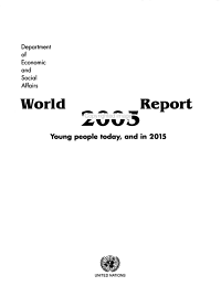 World Youth Report  2005 PDF