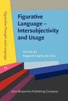 Figurative Language     Intersubjectivity and Usage PDF