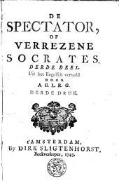 De Spectator of Verrezene Socrates: Volume 3