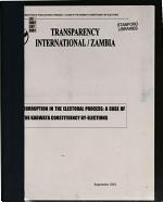 Corruption in the Electoral Process PDF