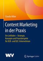 Content Marketing in der Praxis PDF