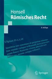 Römisches Recht: Ausgabe 8