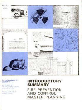 Introductory Summary Fire Prevention and Control Master Planning PDF