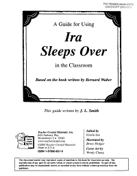 A Guide for Using Ira Sleeps Over in the Classroom PDF