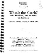 Proceedings of What's the Catch?
