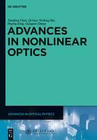 Advances in Nonlinear Optics PDF
