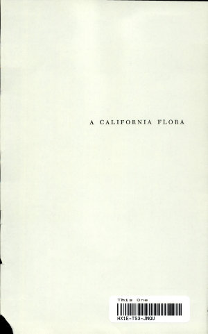 A California Flora