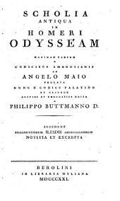 Scholia antiqua in Homeri Odysseam :