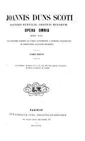 Opera omnia: Volumes 3-4