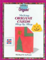 Making Origami Cards Step by Step PDF