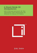 A Hand Book of Hydropathy
