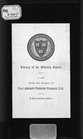 Duncan Dunbar, the Record of an Earnest Ministry: A Sketch of the Life of the Late Pastor of the McDougal St. Baptist Church, New York