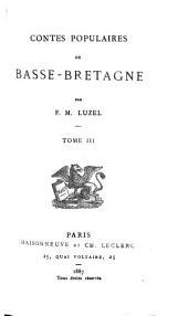 Les littératures populaires de toutes les nations: Contes populaires de Basse-Bretagne