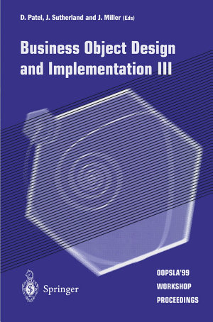 Business Object Design and Implementation III